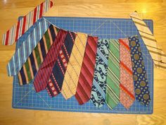 Rick Rack Ruby: How to Make a Necktie Skirt