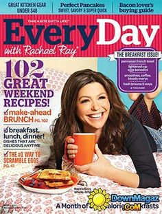 Free Everyday With Rachel Ray Magazine Subscription