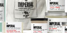 awesome packaging Imperial - The Dieline -