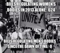 When will politicians learn that we women are individuals in our own right, not chattel to be owned?