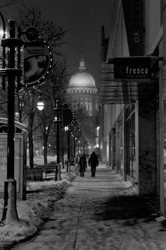 Madison, Wisconsin    State Capital and my Uncle Henry was the Barber at the Capital for many years  <3