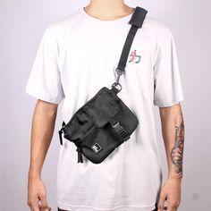 Shoulder Bag Pochete My Pocket Slim Preta - Hoshwear Inc. My Pocket, Shoulder Bags, Slim, Hip Bag, Shoulder Bag, Satchel Bag