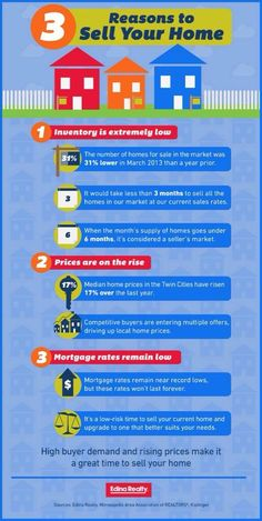 Infographic: 3 Reasons to Sell Your Home