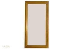espelho com moldura em madeira rj