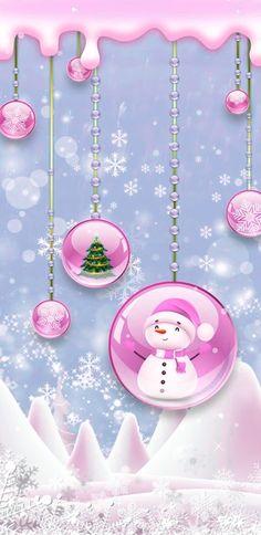 Cute Christmas Wallpaper, Holiday Wallpaper, Winter Wallpaper, Holiday Backgrounds, Christmas Art, White Christmas, Christmas Holidays, Xmas, Cake Wallpaper