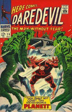 Daredevil # 28 by Gene Colan & Frank Giacoia