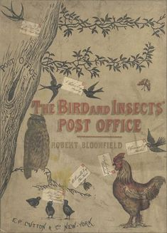 bird and insect post office by Robert Bloomfield
