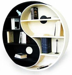 This yin yang would be awsome in a bedroom or den  Units, Creative Home Decorating Ideas