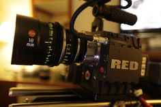 RED 4K video camera.  4x the resolution of 1080p, 450% more pixels than HDTV.