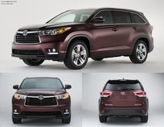 Toyota Highlander 2014... Yes please!  Plus it's a Toyota so it will last forever!