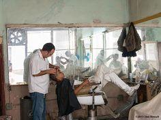 Barber shop Havana Cuba