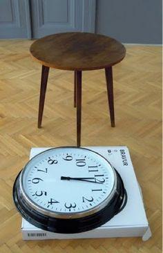 DIY Clock Table - pic 2
