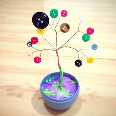 Button tree ❤