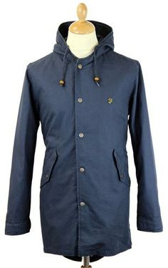 FARAH 1920 Atkinson Cotton FIshtail Parka Jacket