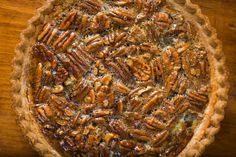 Honey Pecan Pie- I love pecan pie. I mean LOVE. I love it made with molasses or sorghum, even when it's made with corn syrup. As long as it has lots of pecans, I'm going to love it. What I love about our recipe, is the combination of Orange Blossom and Buckwheat Honey give it that great sweetness and earthiness much like molasses or sorghum.