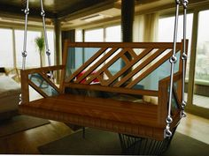 Good Quality Teak wood, Brass Fittings and with Mattress at http://comfortutilities.com/swings-and-accessories.html  #woodenswings #indianswings #woodenswings
