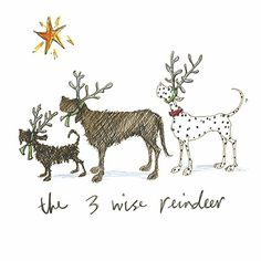 '3 Wise Reindeer' by Sam Toft (st6)