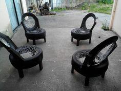 Terraza reciclada