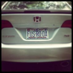 Super.  I'll bet any of the shouts would be great license plates!  And only Skyrim people would know what they mean :-)