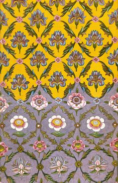 Textile design. India, 18th century. - ❣ Relicário ❣ - makemyworldburn.tumblr.com