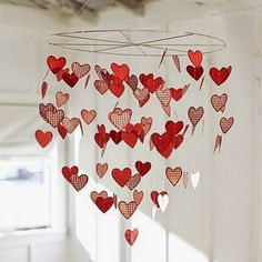 Shop valentine from Pottery Barn Kids. Find expertly crafted kids and baby furniture, decor and accessories, including a variety of valentine. Valentines Day Hearts, Valentine Day Crafts, Love Valentines, Valentine Heart, Holiday Crafts, Valentines Bricolage, Easy Paper Crafts, Paper Hearts, Valentine Decorations