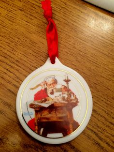 Ceramic Christmas ornament JC Penny 1996 Norman by KMSCollectibles