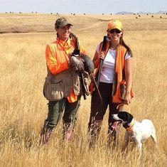 Trained bird dogs...
