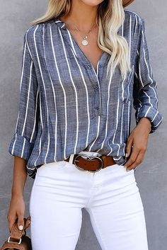 Summer Work Outfits, Casual Work Outfits, Business Casual Outfits, Mode Outfits, Work Casual, Casual Women's Clothes, Work Clothes, Modern Style Clothes, Business Casual With Jeans