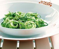 Salade de tagliatelles de concombres