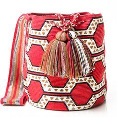 Pattern Wayuu Mochila Bag | WAYUU TRIBE – WAYUU TRIBE | Handmade Bohemian Bags