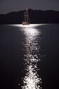 *Moonlight Reflection - Marmaris, Turkey