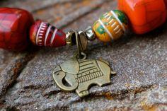 Bracelet éléphant porte-bonheur Talisman. par InSusansWorld sur Etsy