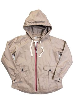 Macleay Khaki Windbreaker Jacket