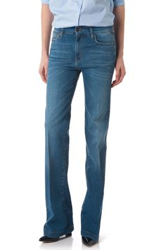 70'S COLLECTION by Cimarron jeans. Flare pant Birdie denim