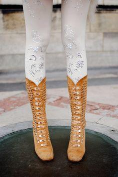 Collants décorés