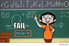 La profesora no sabe nada