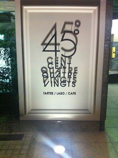 45 / a very nice sign we saw in tokyo