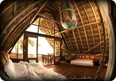Ahau Tulum Resort: Funky, Yoga inspired boutique getaway on the some of the most pristine beaches in the world. About 90 minutes south of Cancun. Rooms for all budgets.