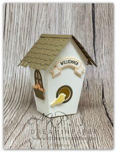 Piepmatz braucht ein Zu Hause#vogelhaus #einhausfürallefälle #handmade #dreaminpaper #stampinup