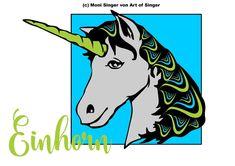 Plotterdatei kostenlos plotter file free plotter freebie freebies plotten dateien kostenlos Silhouette Cameo | Silhouette Portrait Einhorn unicorn