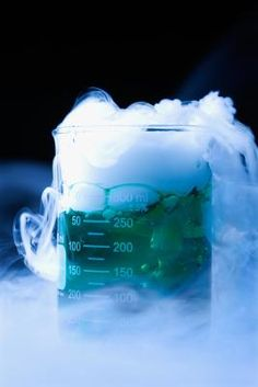 Dry ice is frozen carbon dioxide.  At -78.5 degrees Celsius, dry ice is colder than regular ice. Unlike water ice, dry ice goes from a solid to a gas without becoming a liquid in a process called ...