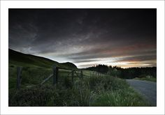 https://flic.kr/p/xo7dUQ | DUMMIE RUN | Another from a circuit around the Cleish Hills on Saturday evening.  The north facing slopes are in deep shade and above the hill fort of Dummiefarline the sun has just set.   Over exposed this by +2 stops then manually blended in the sky from three further exposures in different amounts to preserve the highlights.     Thanks for looking and for any comments / faves.  Website