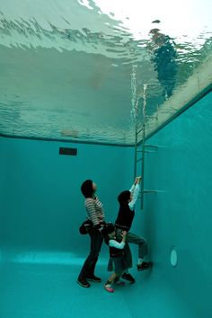 The Swimming Pool Illusion by Leandro Erlich - Japan