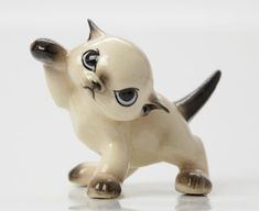 Khitti Kat Hagen Renaker Siamese Cat Figurine by Vintage4Vintage