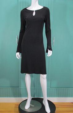Elie Tahari Dress Modern Fluid Crepe Keyhole Long Sleeve Sheath Knee 88% OFF #ElieTahari #Sheath
