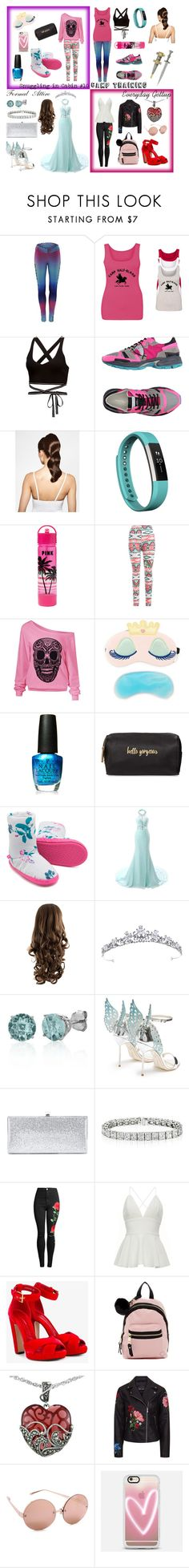 """""""Daughter of Aphrodite"""" by tiffany-du-plessis ❤ liked on Polyvore featuring Puma, Philippe Model, Hershesons, Fitbit, Therapy, OPI, Neiman Marcus, Joules, Belk & Co. and Sophia Webster"""
