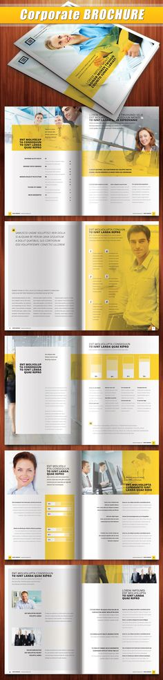 12 Folders e Flyers Super Inspirativos! « Des1gn'ON