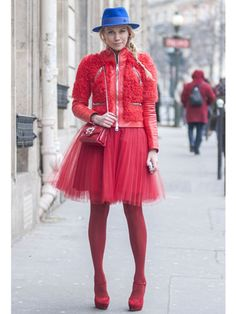 Street Style at Fall 2013 Paris Fashion Week - PFW Street Style Pictures - Marie Claire