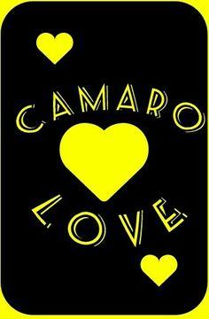 "My ""Camaro Love"" logo i created"