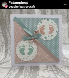 Baby Cards, First Step, Stampin Up, Scrap, Frame, Tags, Baby Delivery, Cards, Picture Frame